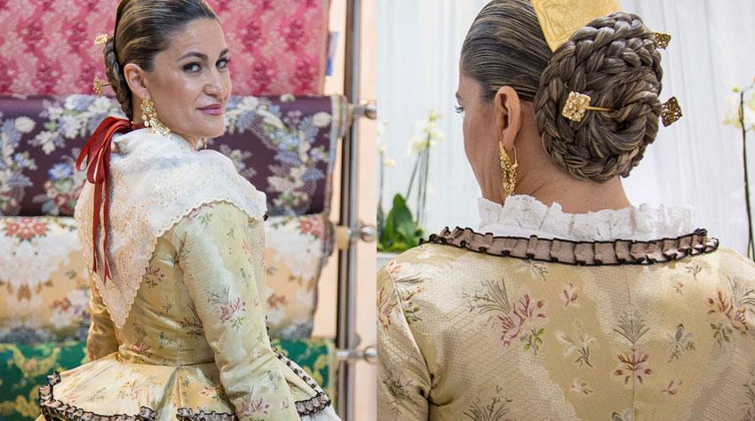Entrega de traje a María Hidalgo