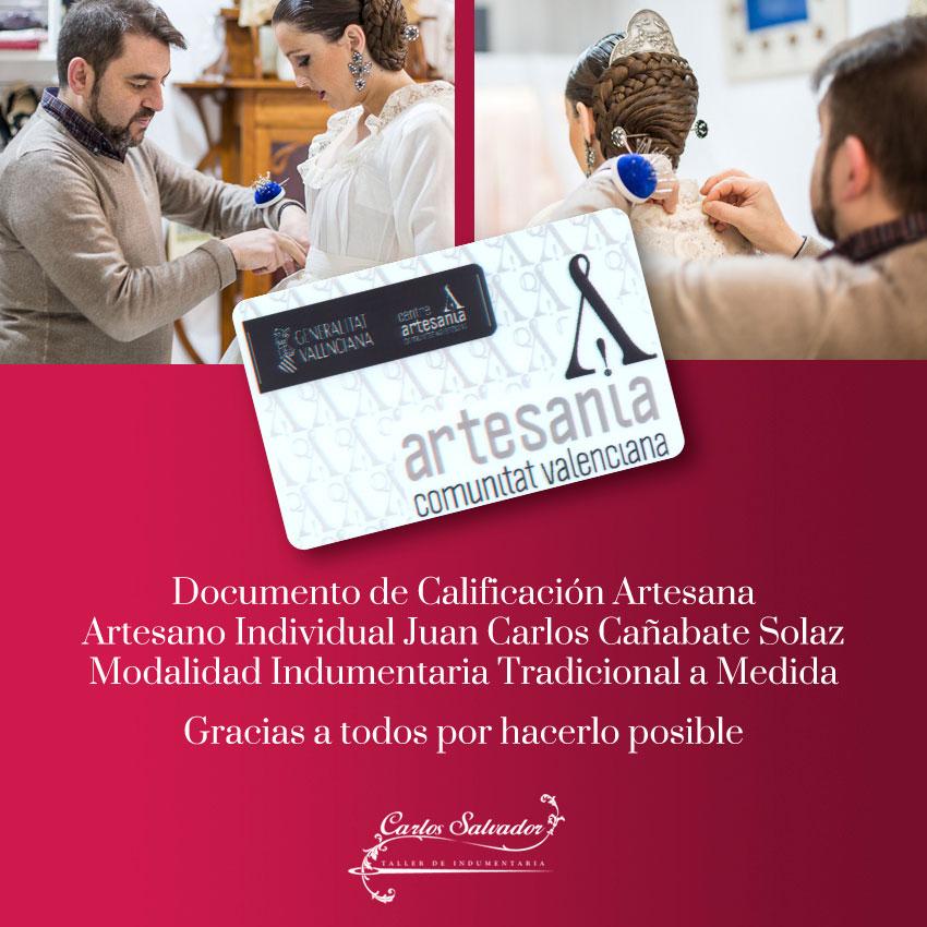 Documentación de Calificación Artesana - Artesano Individual